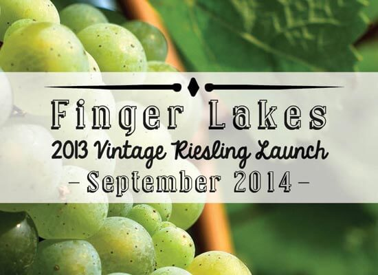 The Finger Lakes Wine Alliance Announces the Debut of 2013 Rieslings