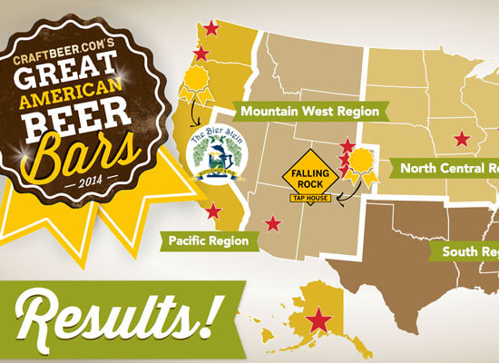 CraftBeer.com's 2014 Great American Beer Bars