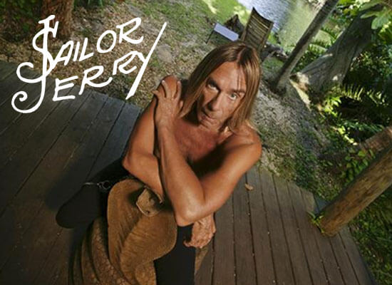Sailor Jerry Introduces the Flash Collection by Iggy Pop