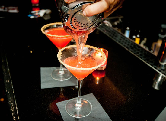 Chilled Drink Of The Week: Belvedere Strawberry Cobbler