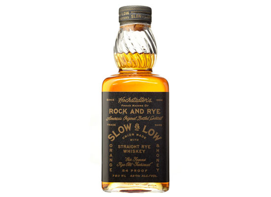 Slow & Low – Straight Rye Old-Fashioned in a Bottle