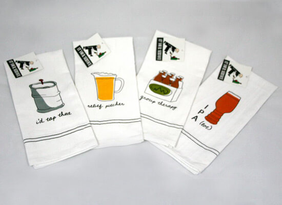'At Your Service' Beer Towels