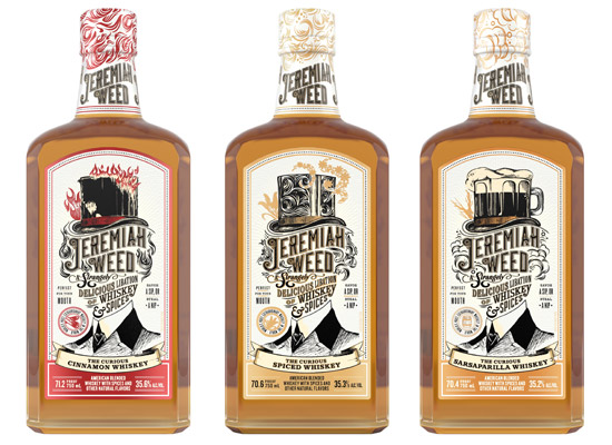 Jeremiah Weed to Pique Curiosity with Line of Strangely Delicious Flavored Whiskies