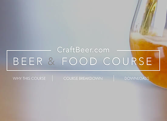 Brewers Association Publishes Beer & Food Course