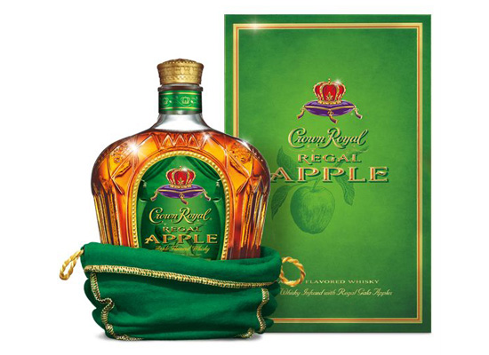 Crown Royal Introduces Regal Apple Flavored Whisky