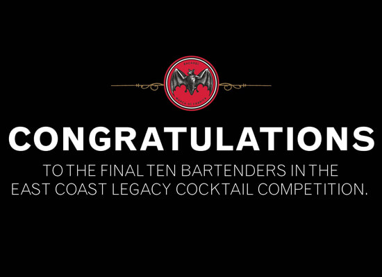 Final Ten Bartenders Named in the East Coast Legacy Cocktail Competition