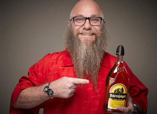 Bärenjäger Honey Liqueur sponsors 2014 Just for Men World Beard and Moustache Championships® held in Portland, Oregon