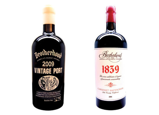 Limited Edition Wines in Honor of Brotherhood Winery's 175th Anniversary