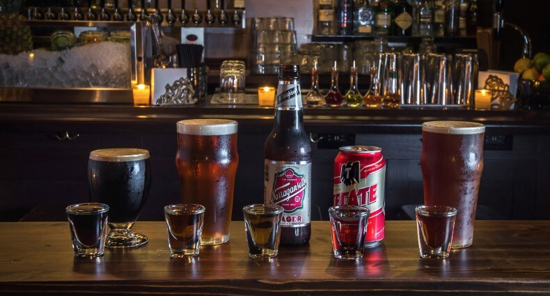 From left to right - Breakfast of Champions, Beer Eye On the Straight Rye, All-American, Machete In Space, National Anthem