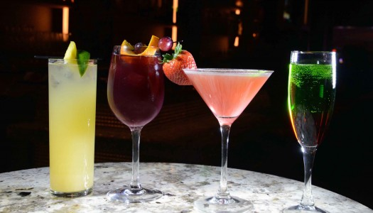 Super Bowl Cocktails from Long Bar at Borgata Hotel & Casino