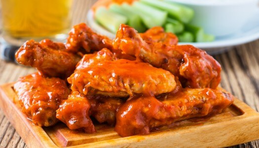 Crown Royal Infused Hot Wings