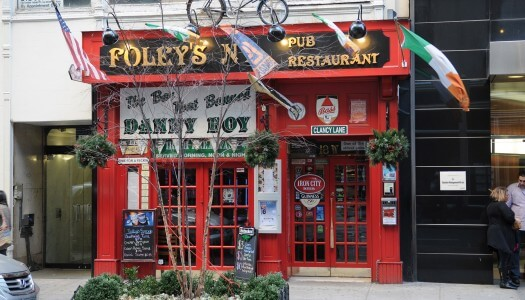 "Foley's NYC ""Craft Beer for a Cause"" – February 16th, 2014"