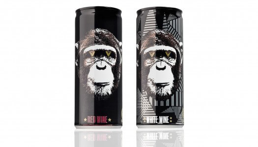 "The Infinite Monkey Theorem Re-Launches ""Drink Anywhere"" Canned Wine"