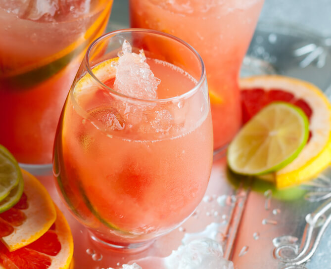 Ruby Red Tequila Cocktails