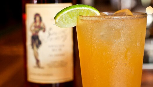 Sailor Jerry Spiced Rum Beer Cocktail