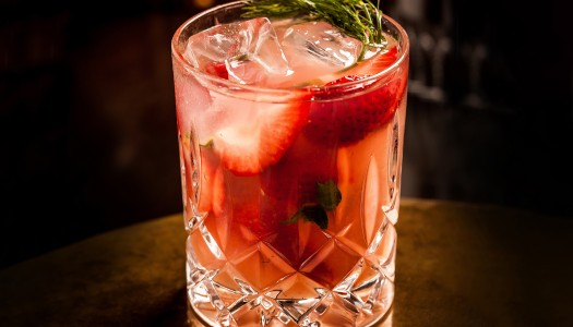 Chilled Drink of the Week: Strawberry Fennel