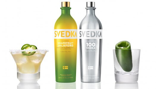 SVEDKA Grapefruit Jalapeño & SVEDKA 100 Proof
