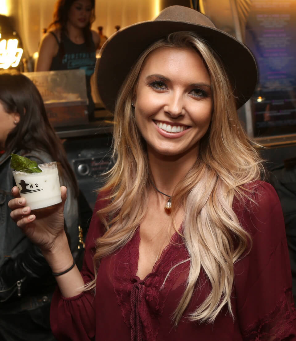 Audrina Patridge celebrates the Big Game weekend with Tequila Don Julio and 1OAK Present Neon Carnival