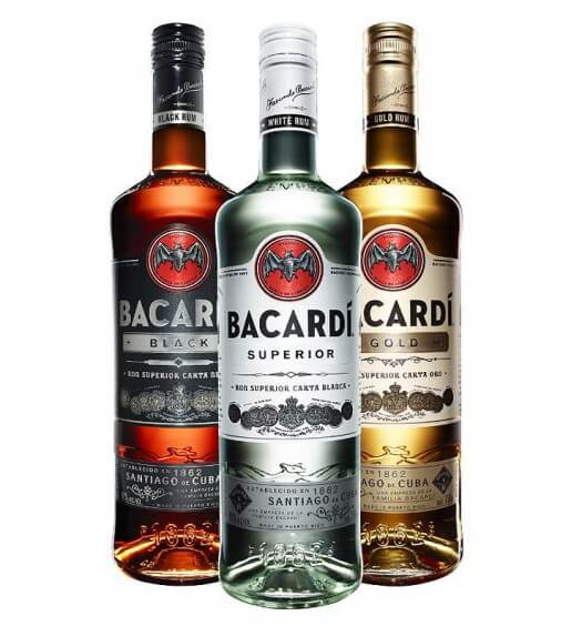 BACARDI Rum New Package Design