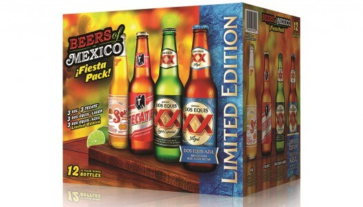 """Beers of Mexico"" Variety Pack Returns With Limited Edition Dos Equis Azul"