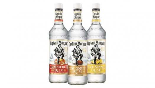 Captain Morgan Launches New Flavored White Rums