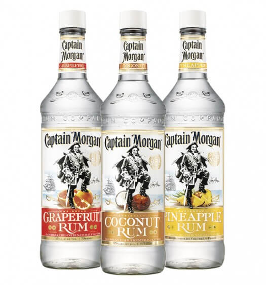 CAPTAIN MORGAN® White Rum Flavors