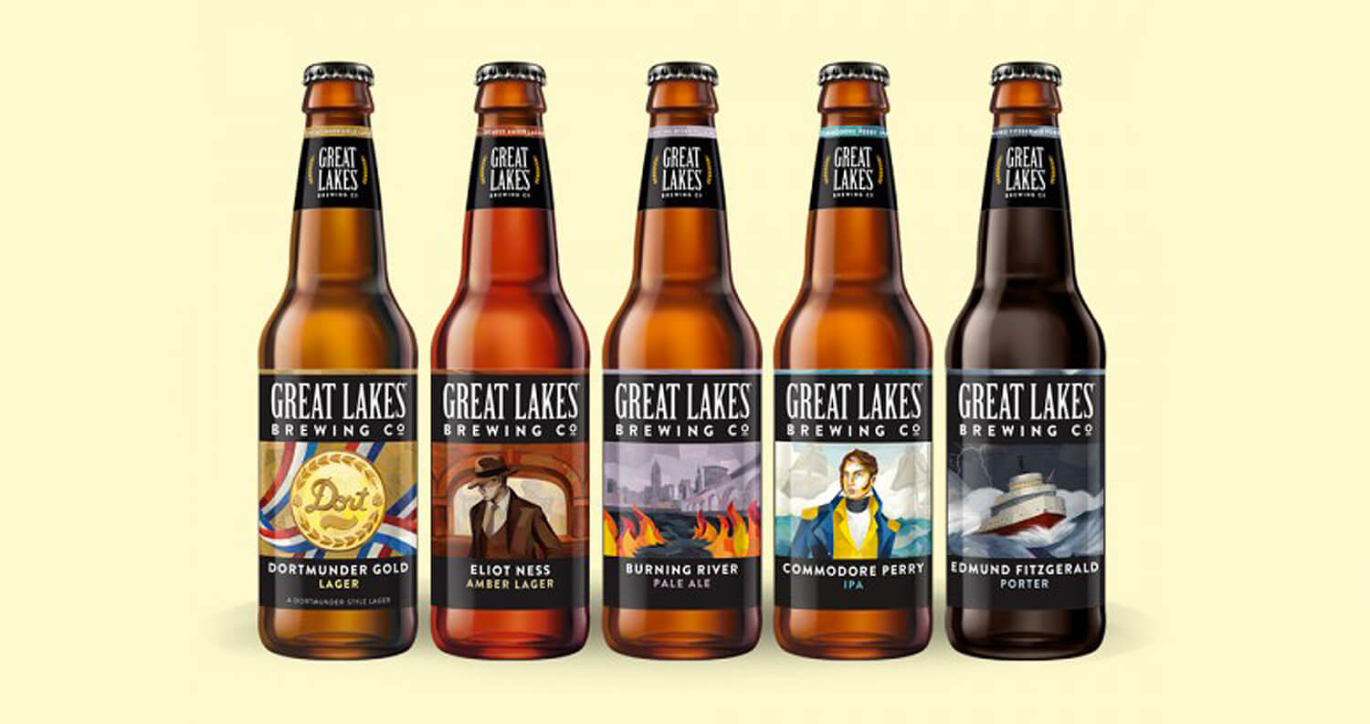 Great Lakes Brewing Company Reveals First Batch of Refreshed Labels