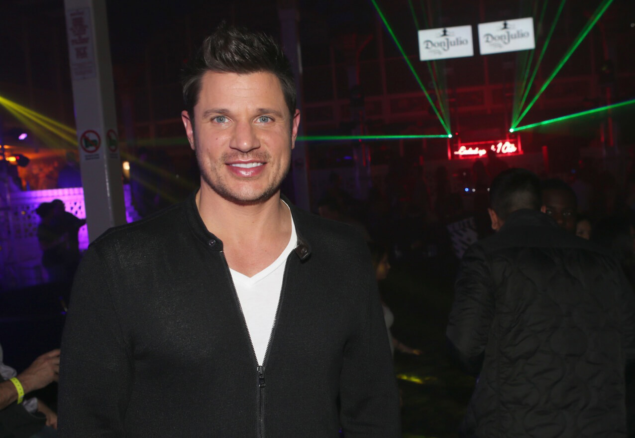 Nick Lachey celebrates the Big Game weekend with Tequila Don Julio and 1OAK Present Neon Carnival