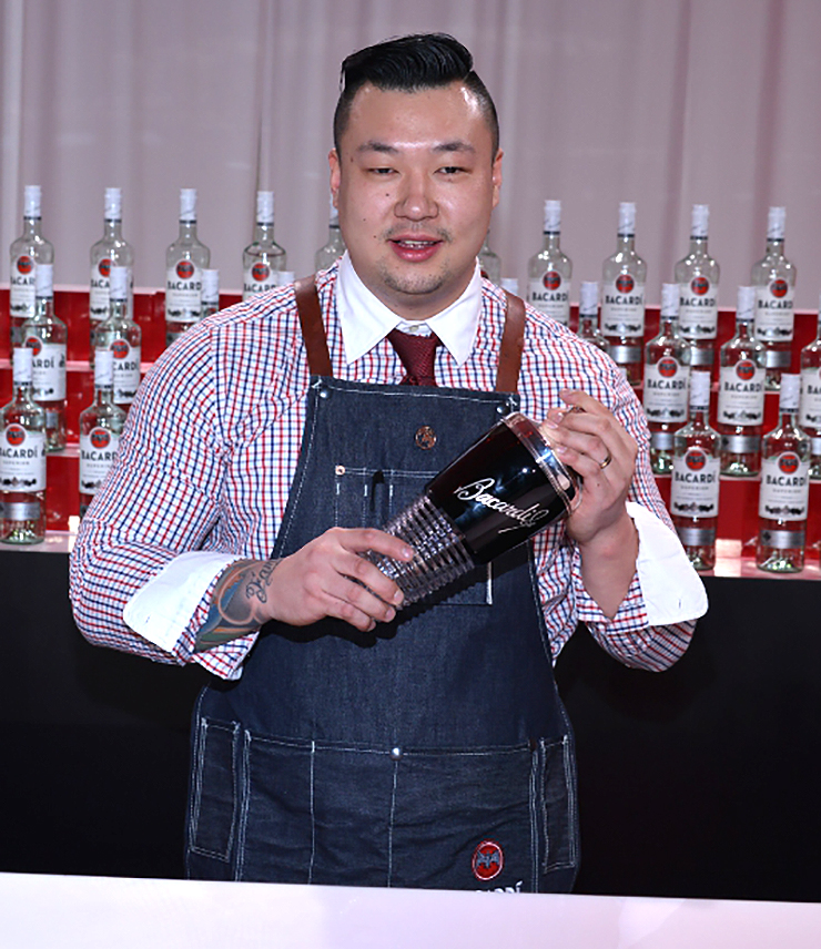 Ran Duan, Winner of the 2015 USBG National Legacy Cocktail Showcase Sponsored by BACARDÍ