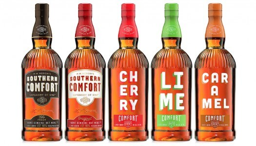 Southern Comfort Introduces New Caramel Flavor and New Packaging