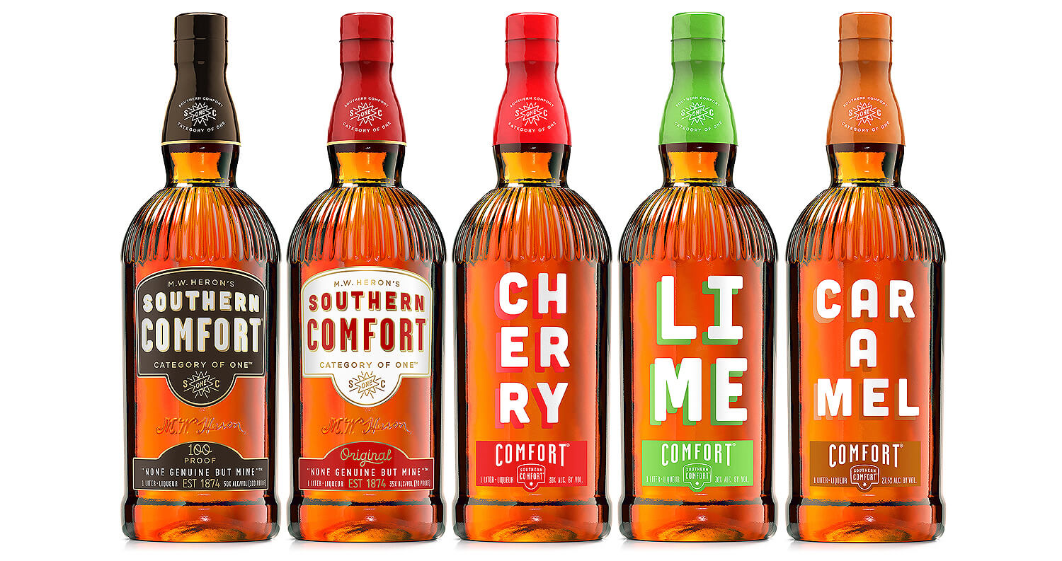 Southern Comfort New Packaging
