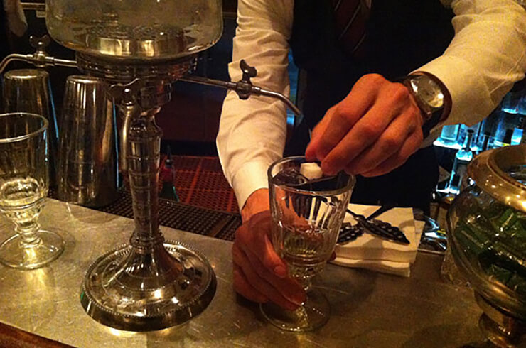 Absinthe Being Prepared
