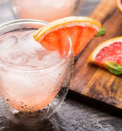Grapefruit & Ginger Sparkler