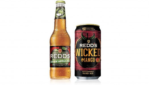Redd's Introduces Green Apple Ale and Wicked Mango Flavors