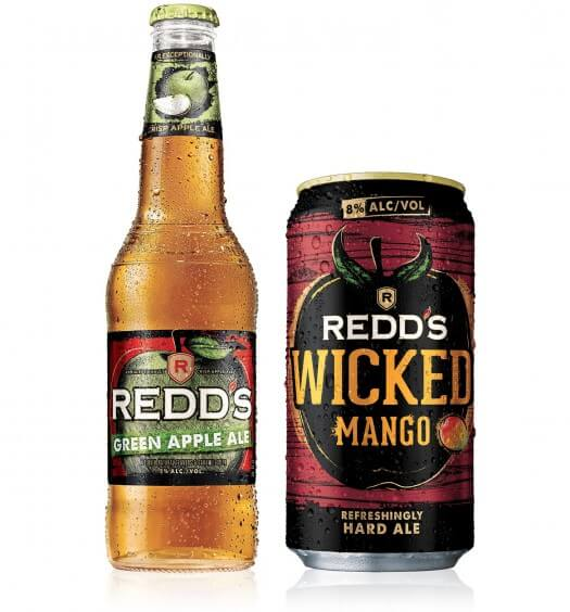 Redd's Green Apple Ale and Wicked Mango Flavors
