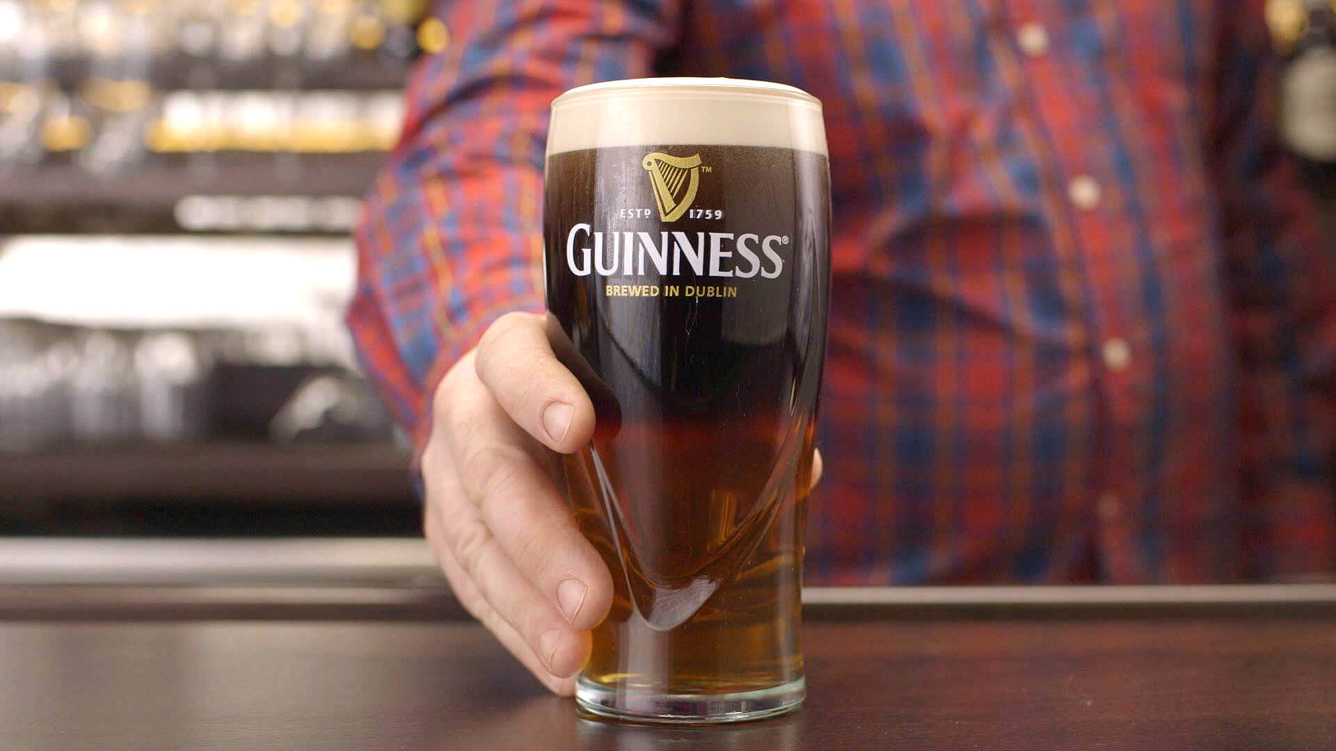 Guinness Black and Blonde