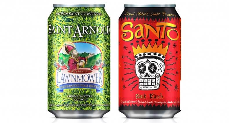 Lawnmower and Santo Beer