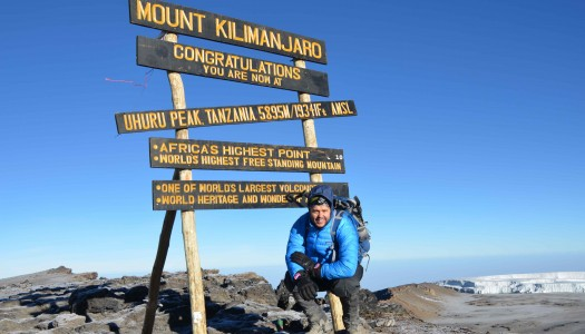 Simon Ford of The 86 Co. Climbs Kilimanjaro to Raise Funds for the Un86'd Charity