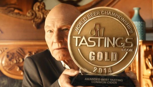 Legendary Actor Sir Patrick Stewart Teams Up with Strongbow® Cider