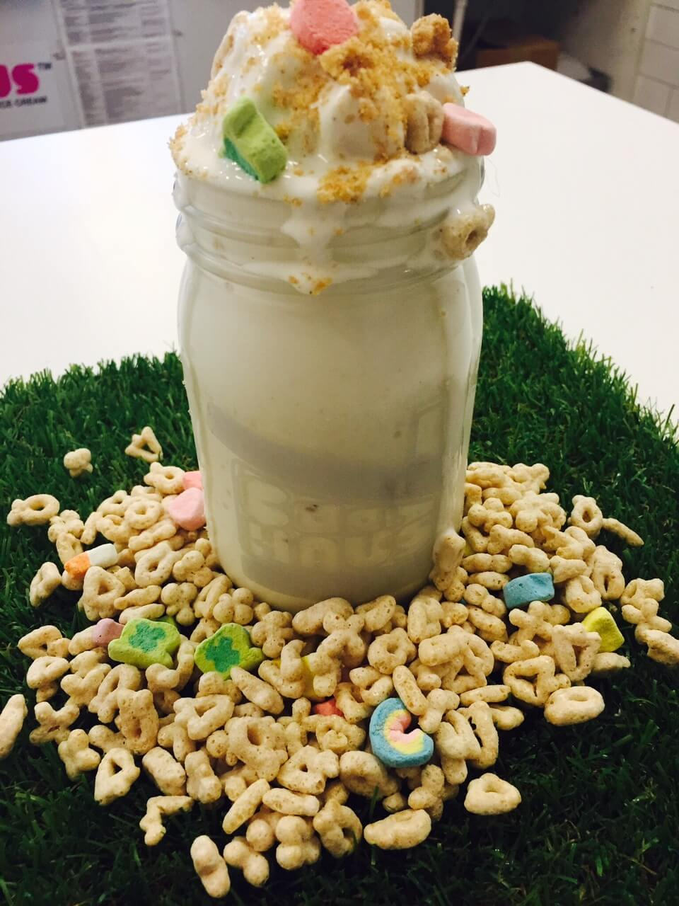 Whiskey Charms Milkshake