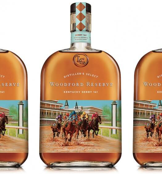 Woodford Reserve Releases Commemorative 2015 Kentucky Derby Bottle