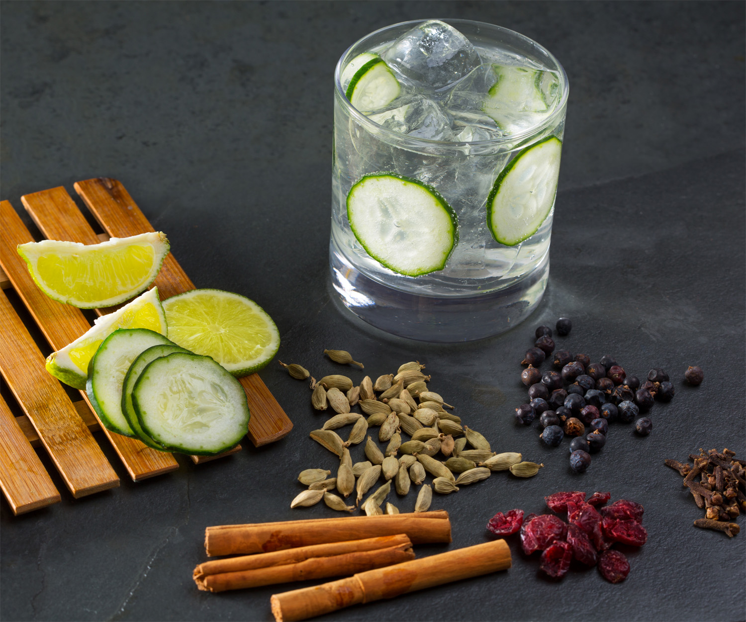 Cucumber Cocktail with Botanicals