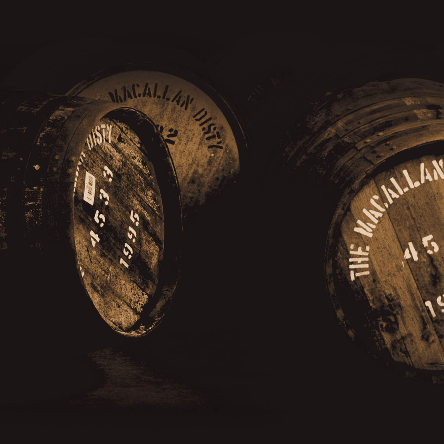 Macallan Distillery Casks