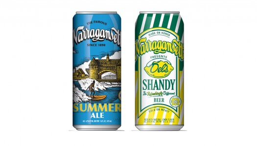 Narragansett Re-Releases Del's Shandy and Summer Ale