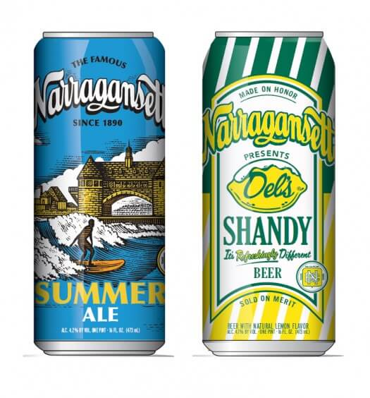 Narragansett Beer Summer Brews
