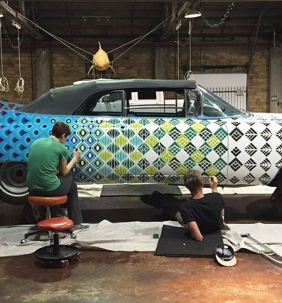Saint Arnold Rolls Out a Classic for Houston Art Car Parade