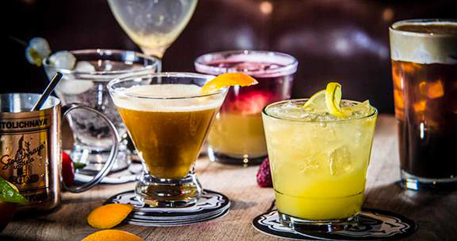 Bounce Sporting Club Cocktails