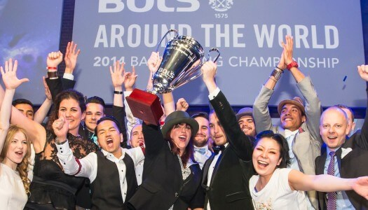 Bols Around the World 2015 Challenging the Bartenders Worldwide