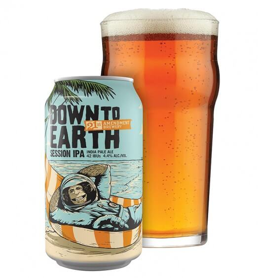 Down To Earth, A New Beer with A Familiar CHIMP