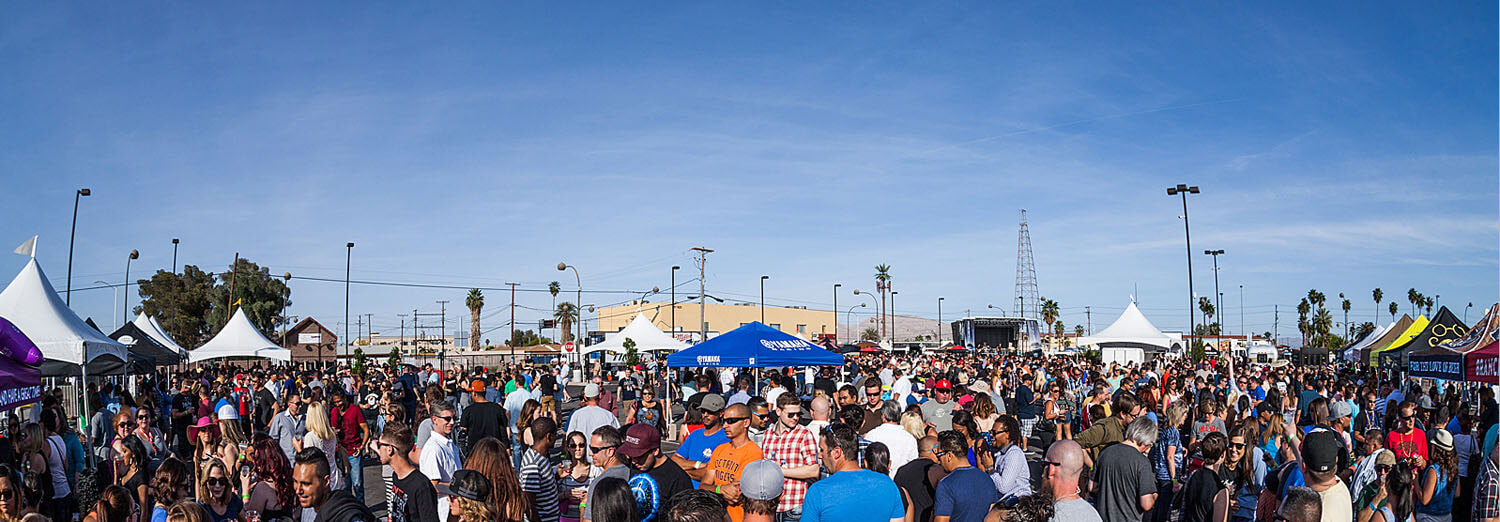 More than 6,000 beer fans celebrated the fifth anniversary of Motley Brews' Great Vegas Festival of Beer.